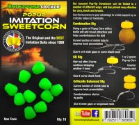 Искусственная кукуруза Popup Sweetcorn Fluoro Green