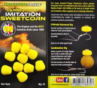 Крупная искусственная кукуруза Large Popup Sweetcorn Yellow Unflavoured