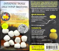 Крупная искусственная кукуруза Large Popup Sweetcorn White Pineapple