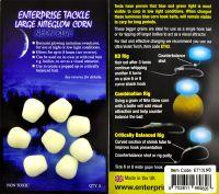 Крупная светящаяся искусственная кукуруза Large Niteglow Corn Neon Blue