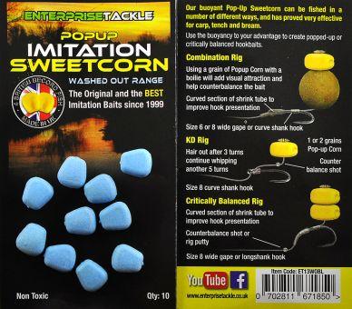 Искусственная кукуруза Popup Sweetcorn Washed Out Blue