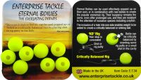 Искусственные бойлы 12mm Boilies Fluoro Yellow