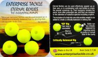 Искусственные бойлы 15mm Boilies Fluoro Yellow