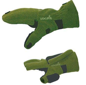 Перчатки-варежки ветрозащитные  отстёгивающиеся  NORFIN Cesium