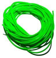 Кембрик силиконовый флюоресцентный 10м зеленый