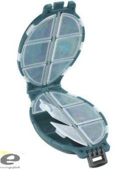ЕТ Коробка для крючков  черепашка  12 отсеков HS-004     75240012