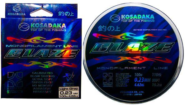 Леска Kosadaka Blaze (монофильная) 100м