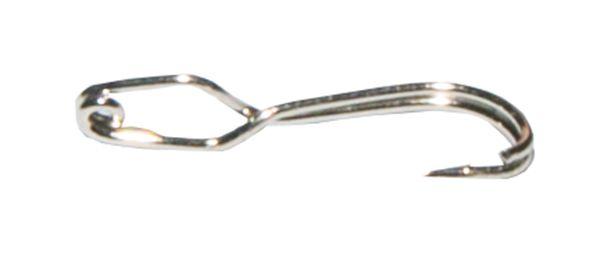 Крючок-прищепка никелированный №5