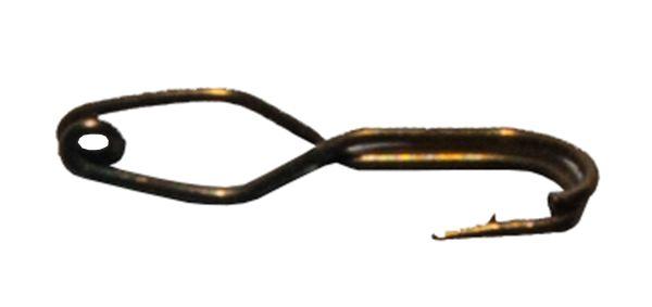 Крючок-прищепка оксидированный №3