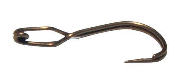 Крючок-прищепка оксидированный №6