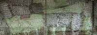 Сетка-маскировка (ПВХ) 80% затемнения зеленая