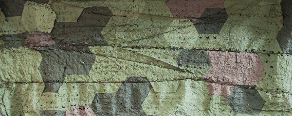 Сетка-маскировка (ПВХ) 100% затемнения зеленая