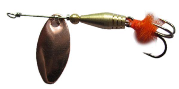 Блесна Атака № 11  2,2 гр.  Swing (Copper)