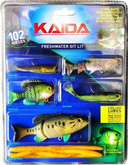 Набор рыболовных приманок Mighty Bite - Kaida 102