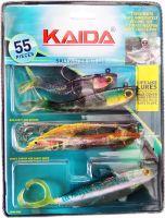 Набор рыболовных приманок Mighty Bite - Kaida 55