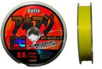Плетенка Sufix желтая 100м