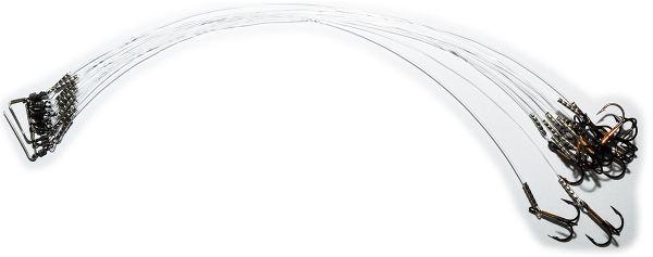 Поводки с тройником Predator Fluorocarbon Classic