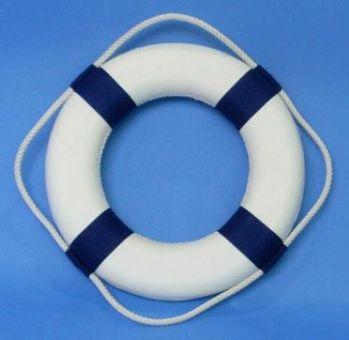 Спасательный круг LIFE BUOY 65х40 синий     70004