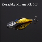 Kosadaka MIRAGE XL 50F (Воблер KD5422 MIRAGE XL 50F, Floating, 50mm, 4,2g)