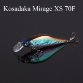 "Kosadaka MIRAGE XS 70F (Воблер KD5431 ""MIRAGE XS"", Floating 70mm 9,0g)"