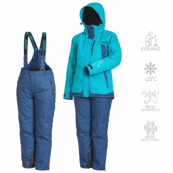 Зимний женский костюм Norfin Snowflake 2