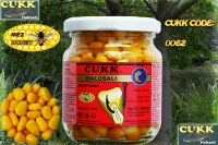 "Кукуруза ""CUKK "" в банке крашенная"