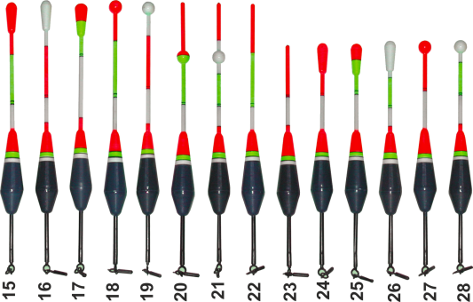 Поплавки Storm модель с 15 по 28