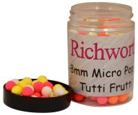 Бойлы плавающие Richworth 6-8 mm Micro Pop-Ups Tutti Frutti - 100 ml