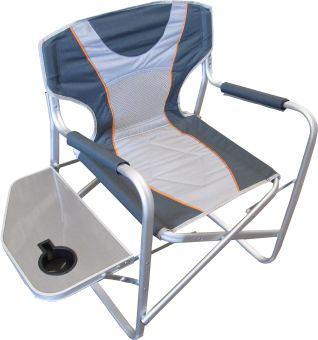 Кресло алюминиевое со столиком      FC770-065L