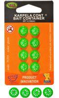 Karpela Cont - 14мм - 4шт/уп - Зеленый