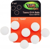 Texno EVA Balls 10mm white (Белый) уп/8шт