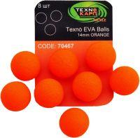 Texno EVA Balls 14mm orange (Оранжевый) уп/8шт
