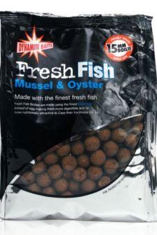 Бойлы Dynamite Fresh Fish Mussel & Ouster