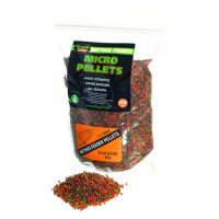 ТехноКарп Method Feeder Micro Pellets - Fruit & Fish mix - 750 грамм