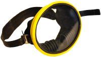 Маска подводная для плавания (желтая)