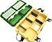 Ящик для зимней рыбалки A-elita с градусником зеленый