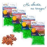Пенопластовые шарики для рыбалки Corona-Fishing - Анис