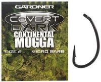 Карповые крючки Gardner - Covert Continental Mugga Hooks Barbed - 20шт