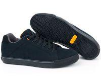 FOX черно-оранжевые кеды (Black Orange Casual Trainers) Кроссовки