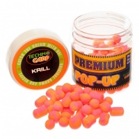Бойлы Технокарп Pop-Up Premium Krill 10,12,10*14mm. 50грамм