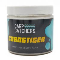 Бойлы вареные насадочные тонущие Carp Catchers Craft «CORN&TIGER» 18 мм