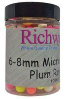 Бойлы плавающие Richworth - Micro Pop-Ups - Plum Royal (Слива) - ERW6PR - 6-8 мм (100 мл)