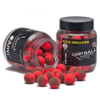 Плавающие бойлы CarpBalls Pop Ups - 14 мм - Plum Shellfish