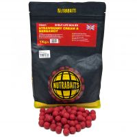Бойлы Nutrabaits STRAWBERRY CREAM & BERGAMOT 1kg