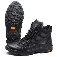Ботинки зимние тактические - Черные