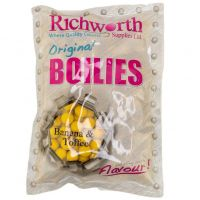 Бойлы Richworth Banana Toffee - Original Boilies - 400 грамм