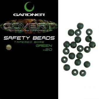 Бусина Gardner - COVERT SAFETY BEADS BROWN - 4 мм - 20 шт.