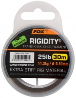 FOX поводковый материал транс-хаки Rigidity EDGES