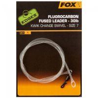 FOX лидер из флюрокарбонового сплава 30lb EDGES