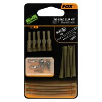 FOX комплект безопасных клипс транс-хаки №7 для зиг-риг EDGES